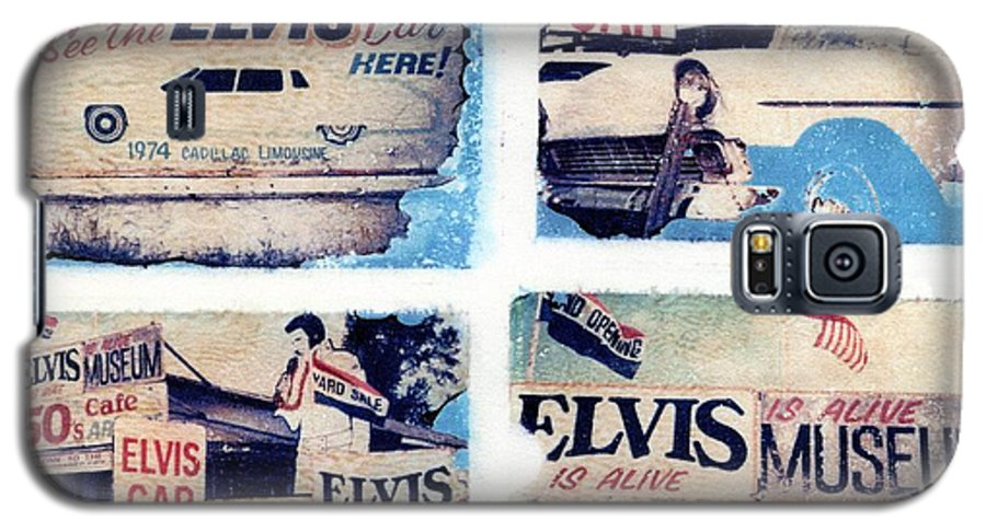 Elvis Galaxy S5 Case featuring the photograph Disgraceland by Jane Linders