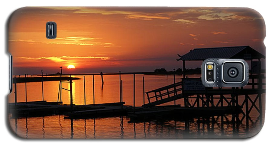 Dock Galaxy S5 Case featuring the photograph Dock Of The Bay by Debbie May