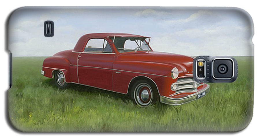 Classic Galaxy S5 Case featuring the painting Dodge by Patricia Van Lubeck