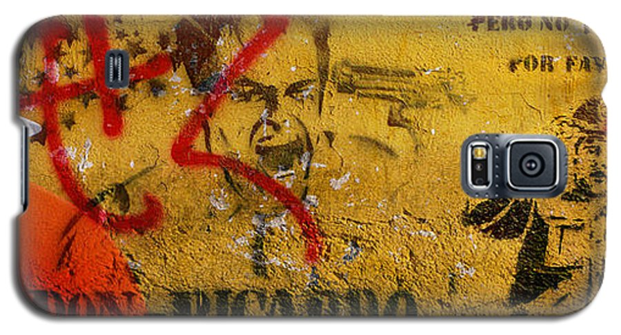 Grafitti Galaxy S5 Case featuring the photograph Don-ricardo by Skip Hunt