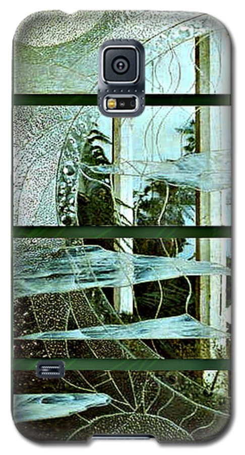 Photography Glass Landscape Galaxy S5 Case featuring the photograph 'door To The Universe' by Sarah King