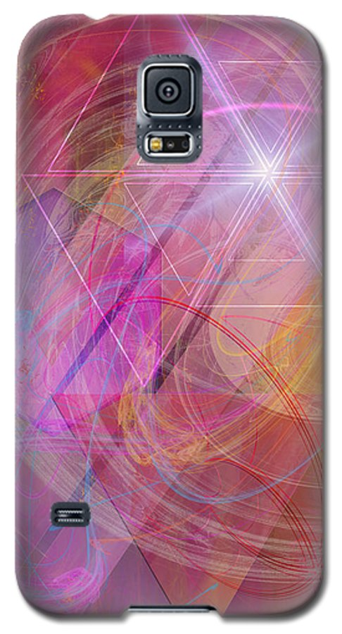 Dragon's Gem Galaxy S5 Case featuring the digital art Dragon's Gem by John Beck