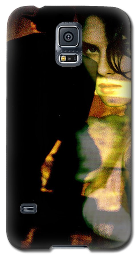 Mystery Galaxy S5 Case featuring the digital art Drama After Dark by Seth Weaver