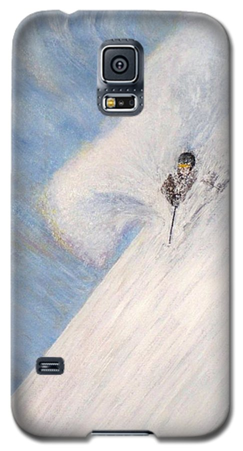 Landscape Galaxy S5 Case featuring the painting Dreamsareal by Michael Cuozzo