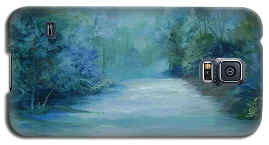 Burton River Georgia Galaxy S5 Case featuring the painting Dreamsome by Ginger Concepcion