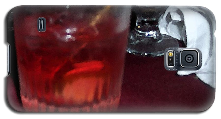 Drinks Galaxy S5 Case featuring the photograph Drink Up by Debbi Granruth