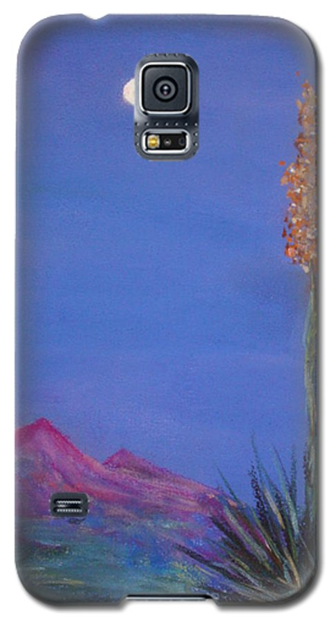 Evening Galaxy S5 Case featuring the painting Dusk by Melinda Etzold