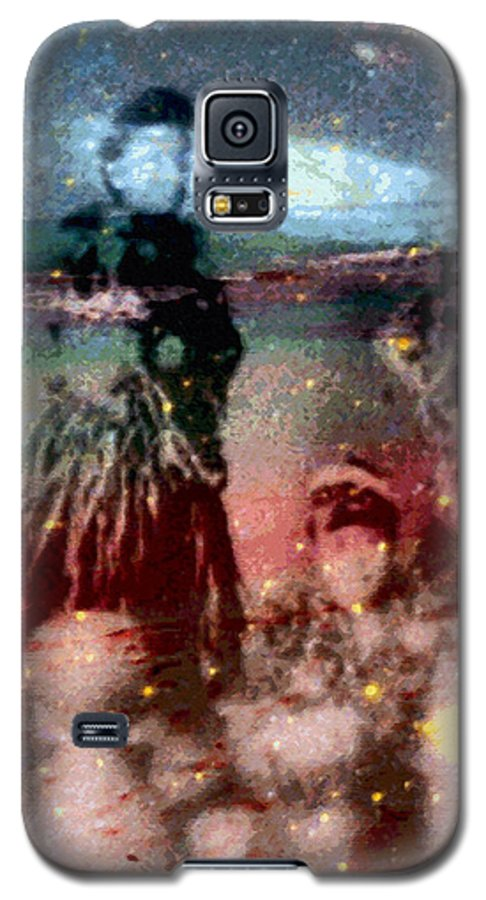 Tropical Interior Design Galaxy S5 Case featuring the photograph E Ola Ana No by Kenneth Grzesik