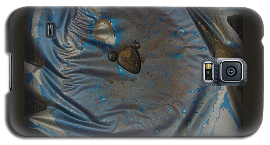 Space Galaxy S5 Case featuring the painting Earth...the Final Spin by Rick Silas
