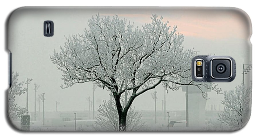 White Galaxy S5 Case featuring the photograph Eerie Days by Christine Till