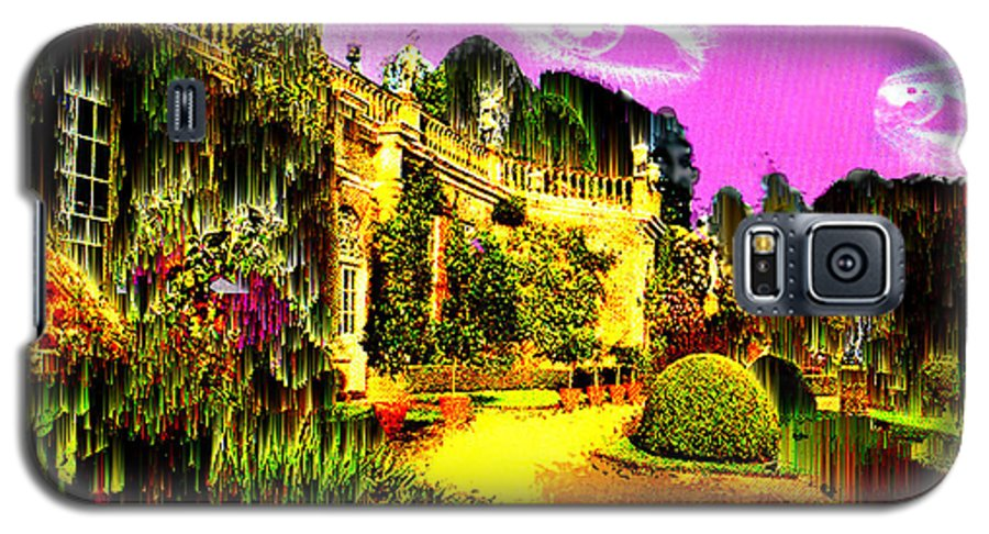 Mansion Galaxy S5 Case featuring the digital art Eerie Estate by Seth Weaver