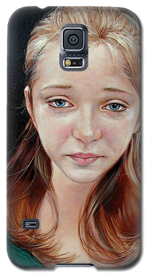 Sadness Galaxy S5 Case featuring the painting Experience Of Loss 2004 by Jerrold Carton