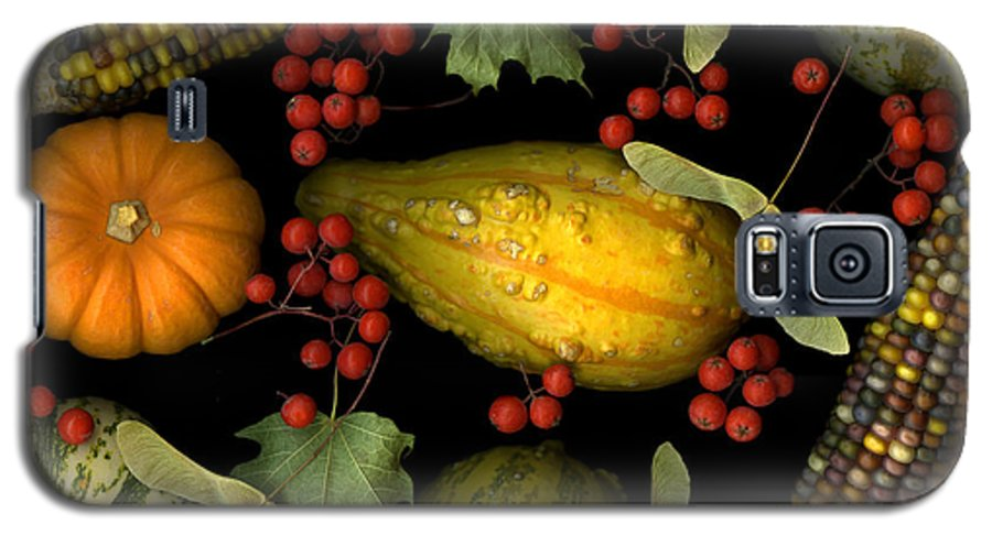 Slanec Galaxy S5 Case featuring the photograph Fall Harvest by Christian Slanec
