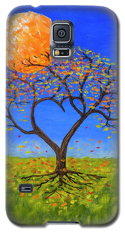 Love Galaxy S5 Case featuring the painting Falling For You by Jerry McElroy