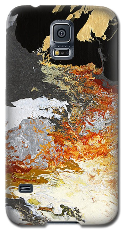 Fusionart Galaxy S5 Case featuring the painting Fathom by Ralph White