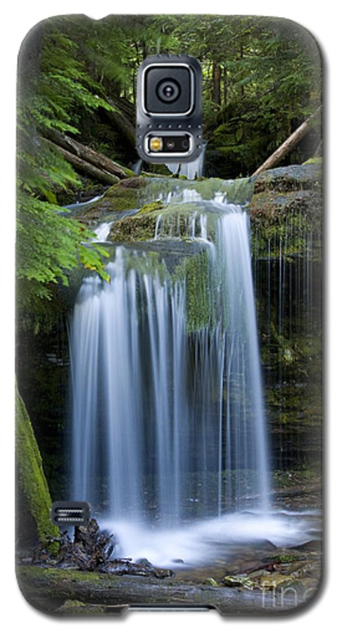 Waterfalls Galaxy S5 Case featuring the photograph Fern Falls by Idaho Scenic Images Linda Lantzy