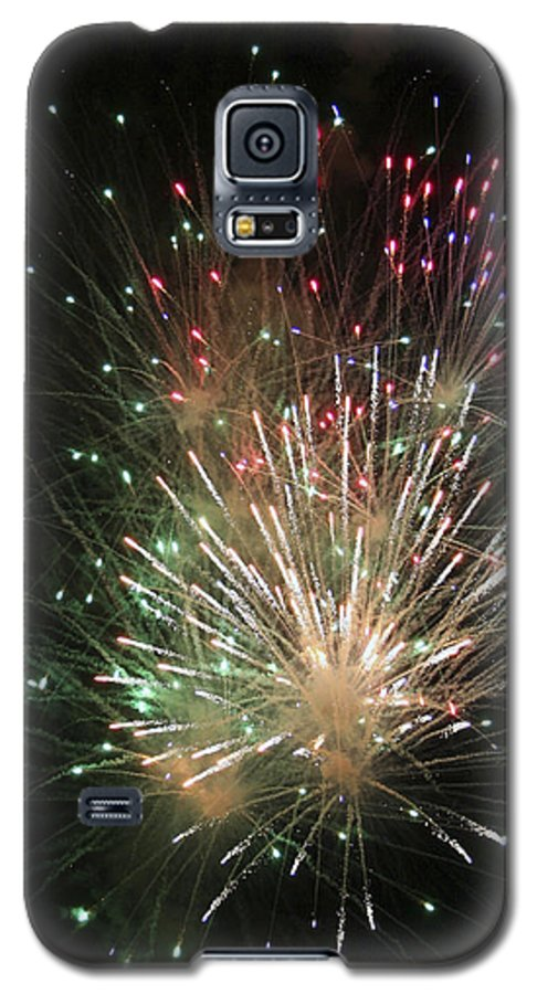 Fireworks Galaxy S5 Case featuring the photograph Fireworks by Margie Wildblood