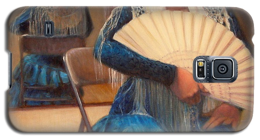 Realism Galaxy S5 Case featuring the painting Flamenco 1 by Donelli DiMaria