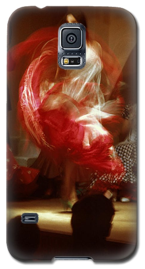 Spain Galaxy S5 Case featuring the photograph Flamenco Dancer In Seville by Carl Purcell