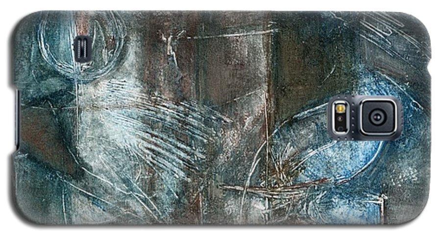 Flight Galaxy S5 Case featuring the drawing Flight Passage by Kerryn Madsen- Pietsch
