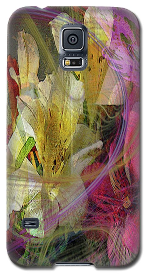 Floral Inspiration Galaxy S5 Case featuring the digital art Floral Inspiration by John Beck