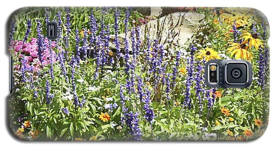 Flower Galaxy S5 Case featuring the photograph Flower Garden by Margie Wildblood