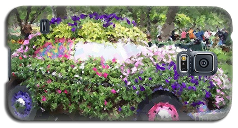 Cars Galaxy S5 Case featuring the photograph Flower Power by Debbi Granruth