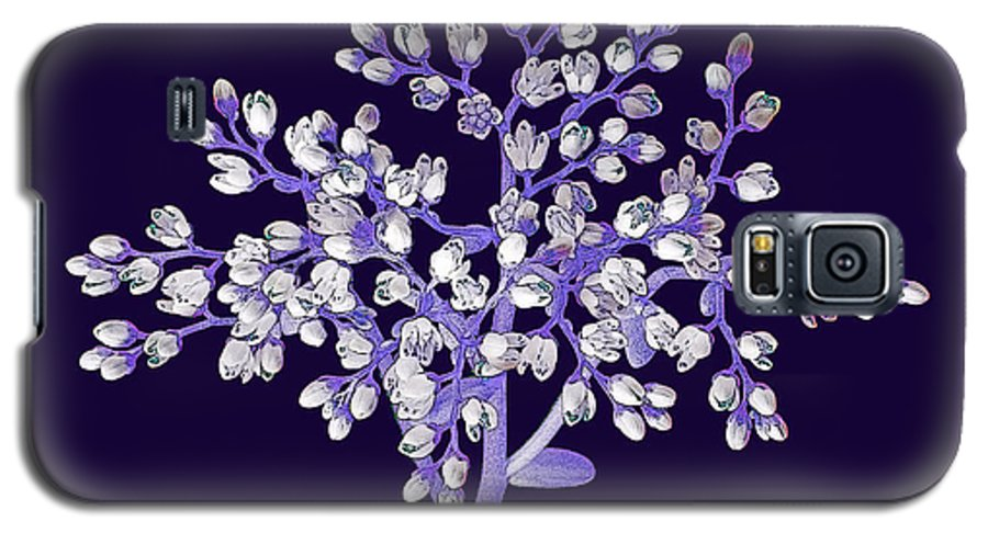 Flower Galaxy S5 Case featuring the photograph Flower Tree by Digital Crafts
