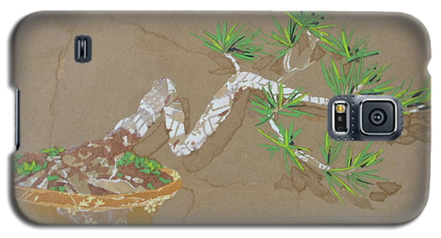 Banzai Tree Galaxy S5 Case featuring the painting For Inge by Leah Tomaino