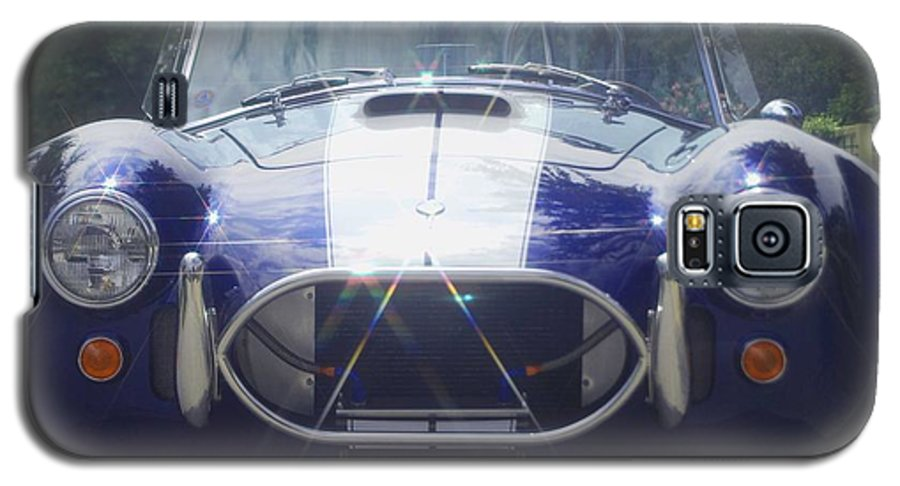 Speed Galaxy S5 Case featuring the photograph Ford Cobra by Margaret Fortunato