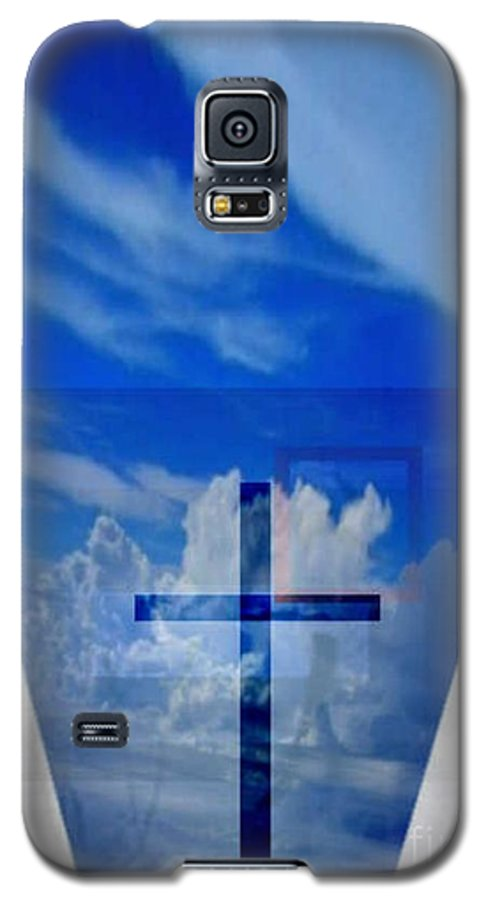 Inspirational Galaxy S5 Case featuring the digital art Forever Settled by Brenda L Spencer
