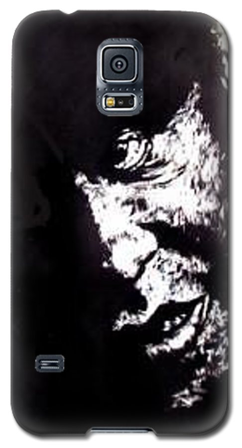 Galaxy S5 Case featuring the mixed media Friendly Advice by Chester Elmore
