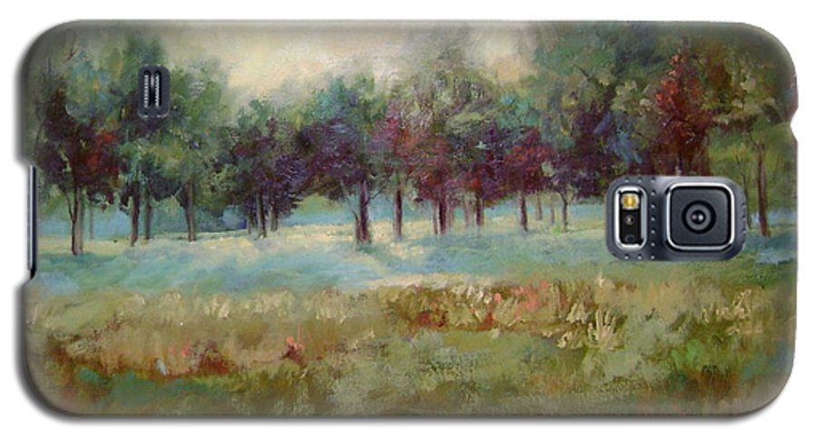 Country Scenes Galaxy S5 Case featuring the painting From The Other Side by Ginger Concepcion