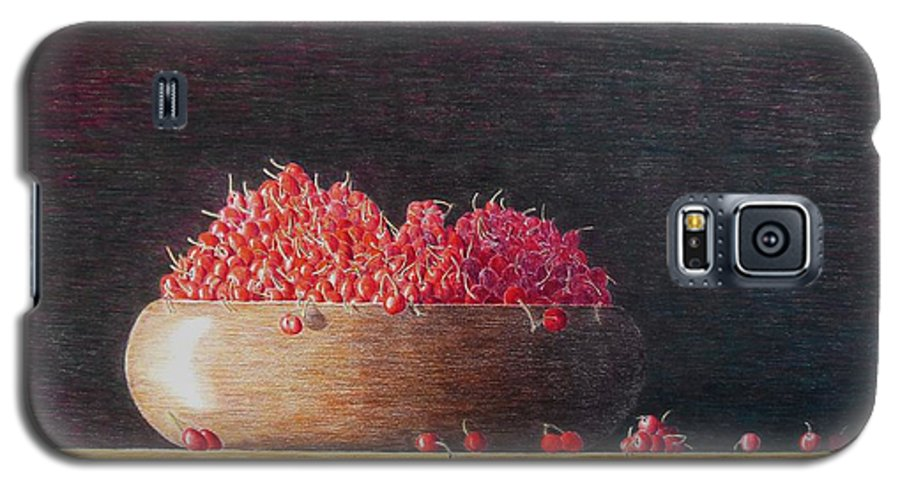Still Life Galaxy S5 Case featuring the painting Full Life by A Robert Malcom