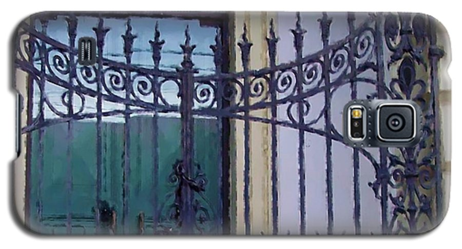 Gate Galaxy S5 Case featuring the photograph Gated by Debbi Granruth