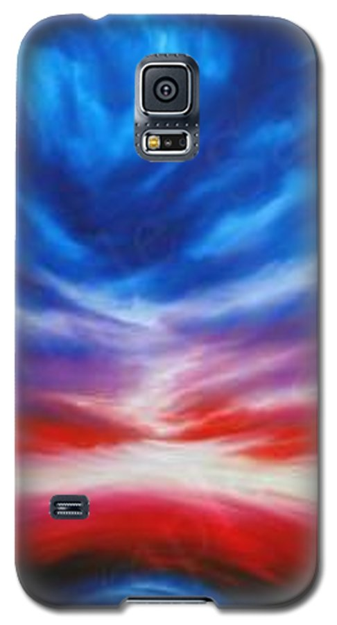Tempest Galaxy S5 Case featuring the painting Genesis IIi by James Christopher Hill