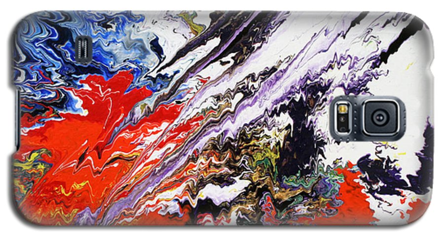 Fusionart Galaxy S5 Case featuring the painting Genesis by Ralph White