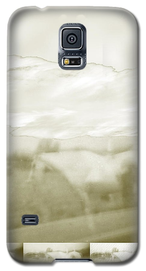 Colorado Galaxy S5 Case featuring the digital art Ghost Horse Colorado by Ann Tracy