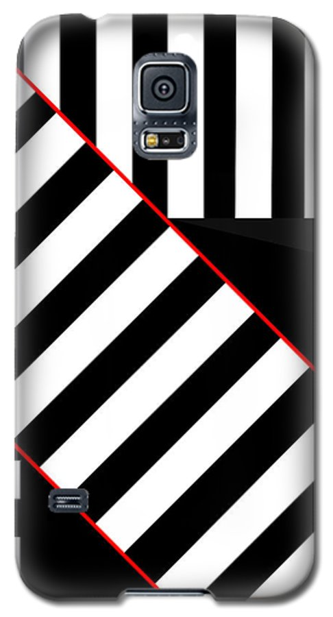 Galaxy S5 Case featuring the digital art Ginza The Babel Legend by Asbjorn Lonvig