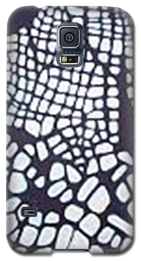 Galaxy S5 Case featuring the painting Glaciers by Carol P Kingsley