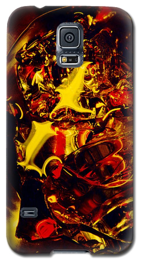 Abstract Galaxy S5 Case featuring the photograph Glassman by David Rivas