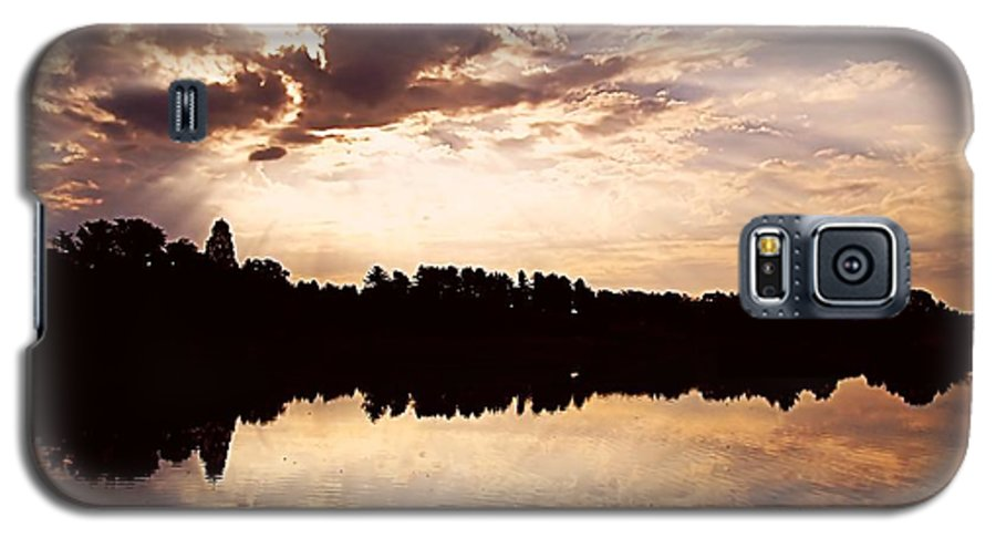Sunrise Galaxy S5 Case featuring the photograph Glorious Moments by Gaby Swanson