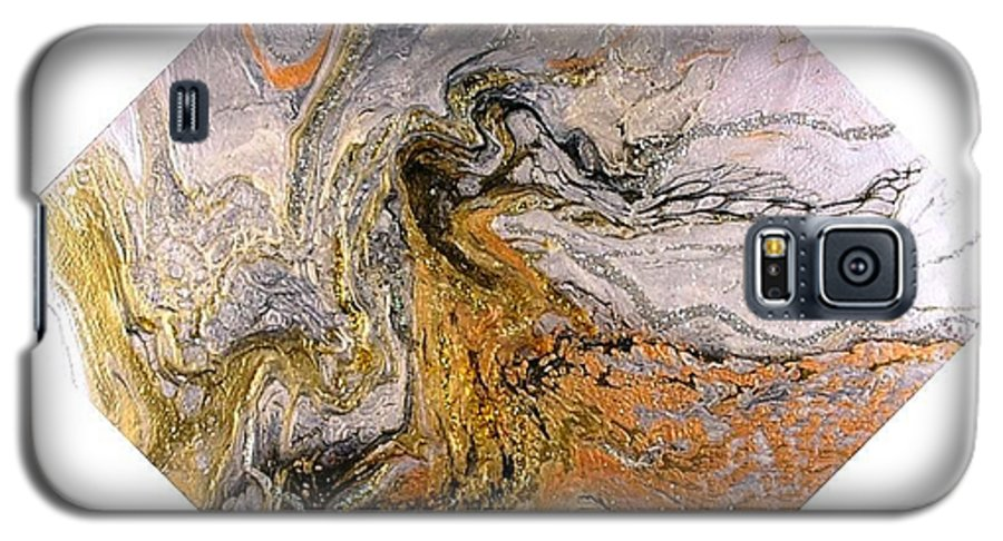 Abstract Galaxy S5 Case featuring the painting Goddess by Patrick Mock