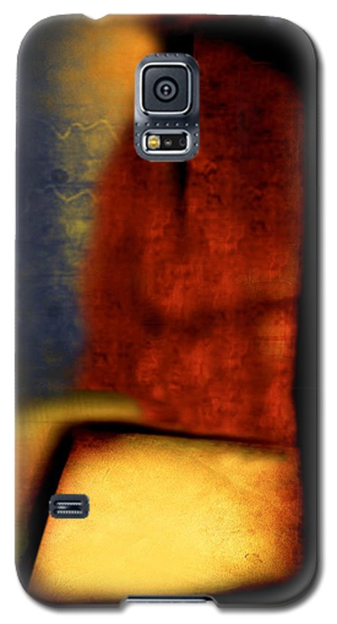 Golf Galaxy S5 Case featuring the painting Golf by Jill English