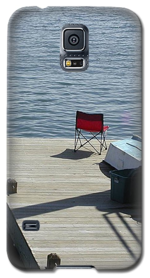 Fishing Galaxy S5 Case featuring the photograph Gone Fishing by Faith Harron Boudreau