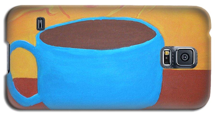 Good Morning Sunshine Galaxy S5 Case featuring the painting Good Morning Sunshine by Beth Cornell