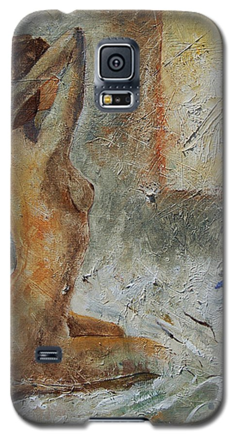 Nude Galaxy S5 Case featuring the painting Good Morning Sunshine by Pol Ledent