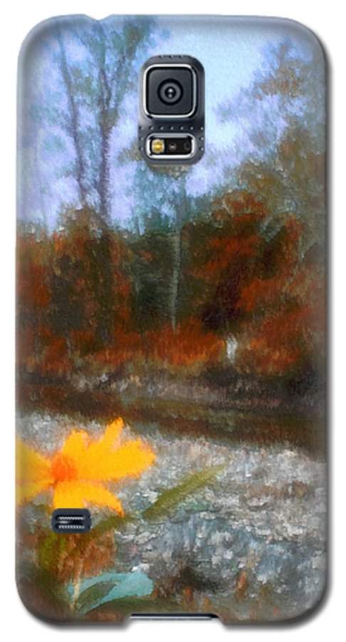 Autumn Galaxy S5 Case featuring the photograph Goodbye Summer by Kenneth Krolikowski