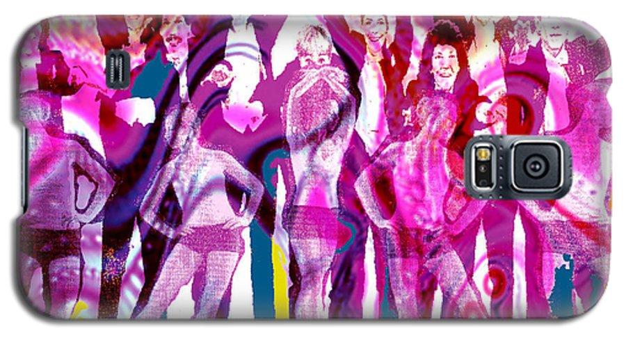 Joy Galaxy S5 Case featuring the digital art Got To Dance by Seth Weaver