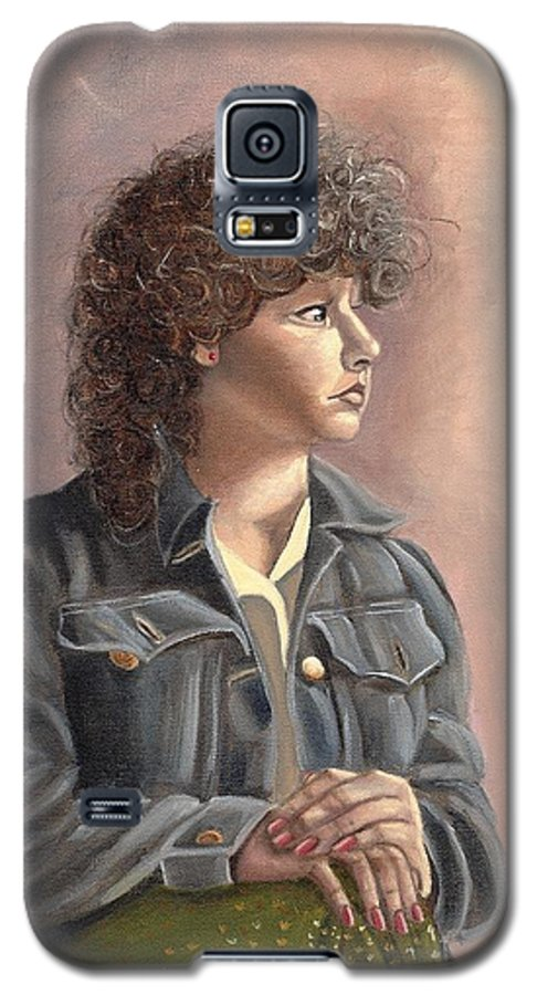 Galaxy S5 Case featuring the painting Grace by Toni Berry